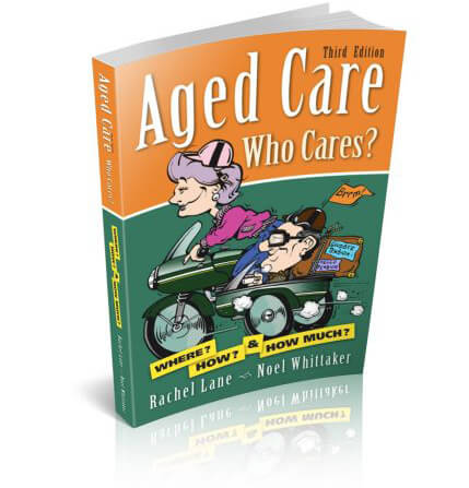 Front cover of book Aged Care Who Cares