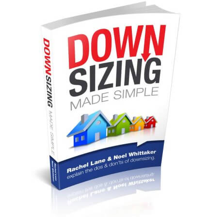 Front cover of book Downsizing made simple